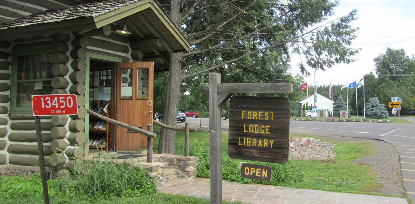 Open six days a week, The Forest Lodge Library in Cable serves residents and visitors in Cable and Namakagon.